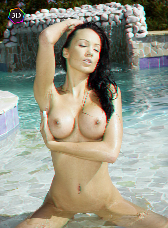 sexy-hottie-getting-naked-in-pool-in-stereo-3d