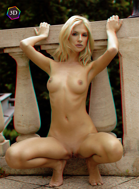 sexy-blonde-girl-posing-naked-outdoors-in-stereo-3d